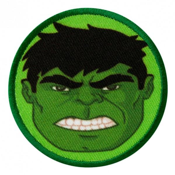 MARVEL Avengers HULK Button Patch / Aufnäher