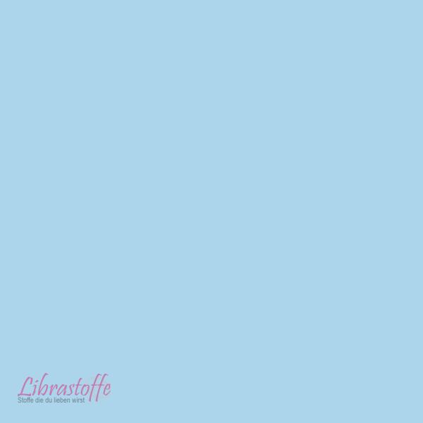 Baumwolle Uni - Blau 150cm X 0,5 Lfm
