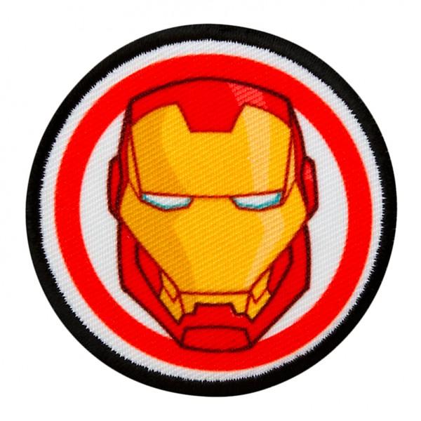 MARVEL Avengers IRON MAN Button Patch / Aufnäher