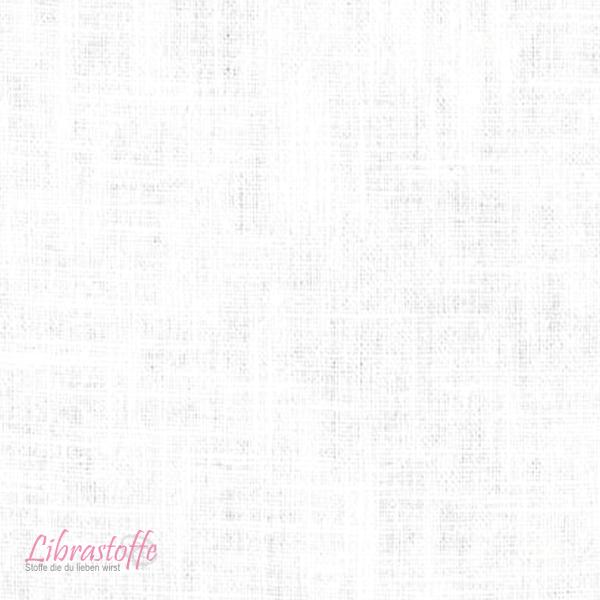 100% Leinenstoff Uni Weiß - 140cm X 0,5 Lfm.