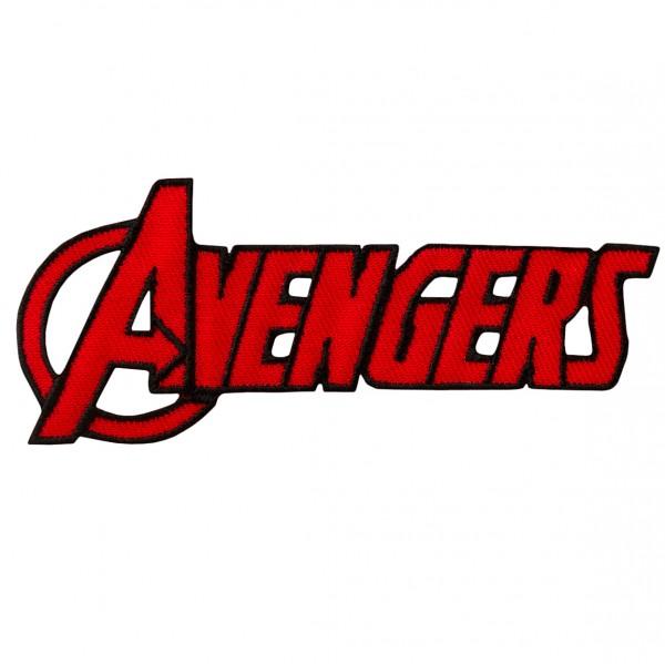 MARVEL Avengers Schriftzug Patch / Aufnäher
